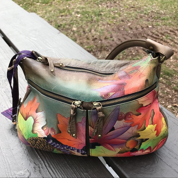 Anuschka Bags   Genuine Handpainted Leather Bag   Poshmark bf9730447d